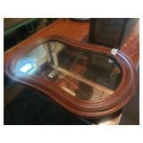 Walnut Frame Mirror
