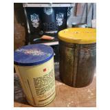 1 Tin Can & 1 Potato Chip Can