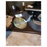 Mantle Keywind Clock With **no Key**, Gilbert