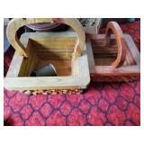 Wooden Plant Holders - Misc