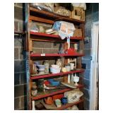 Both Large Shelves Including Contents