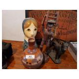 Vase & 3 Figurines