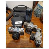 Lot Of Assorted Cameras