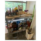 2 Row Shelf & Contents