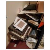 Large Lot Of Pictures And Frames