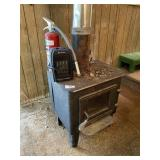 Stove, Heater & Fire Extingushier