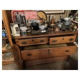 Dresser & Contents -  Assorted Knick Knacks