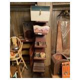 Shelf & Contents - Decorative Boxes & Misc.
