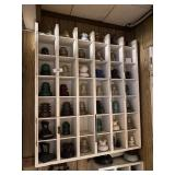 Shelf Of Antique Insulators