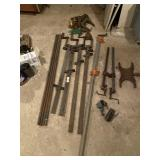 Clamps, Pipes & Misc.