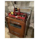 Custom Electric Stove, Tool Box Carrier With Tools