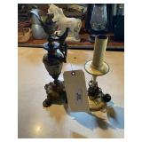 Candlestick Lamp & Stand