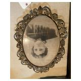 Picture With Metal Frame