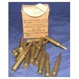 15 Rounds Original 7.35 Carcano Ammo