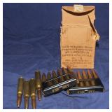 7.35 Carcano, Ammo, Clips & Box