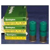 3 - 5 Round Remington 12 Ga Buck