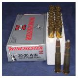 20 Rounds  Winchester 30-30