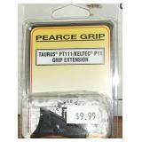Pierce Grip Extension,  Taurus PT 11,  Keltec P-11