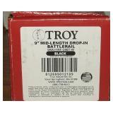 Troy 9 Inch Drop In Battle Rail