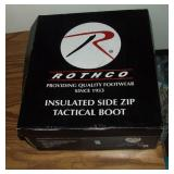 Rothco  Side Zip Tactical Boot Sz 9