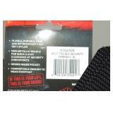 TRU SPEC Security Belt, Black, XL