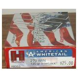 Hornady  American Whitetail, 270 Winchester
