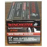 Winchester 17 Winchester Super Magnum