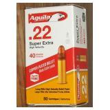 Aguila 22 LR, 40 Gr.  50 Rounds
