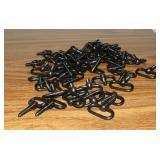 Blued Steel Swivels, 50 Count