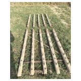 2 - Wooden Corn Drags