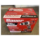 "Bauer 20 Volt 1/2"" Compact Drill/Driver Kit"