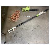 Poulan Extendable Electric Pole Saw & Chain Saw