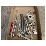 Assorted Wrenches, Ratchets, Crescent Wrenches
