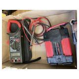 Digital Clamp Meter, 400 Watt Power Inverter