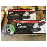 """New  4/12"""" Angle Grinders (2) Cut-off Wheels"""
