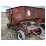 J&M Hopper Wagon with Drying Fan