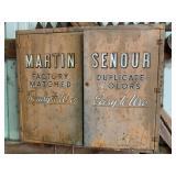 Martin Senour Metal Cabinet