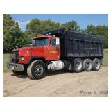 1998 Mack Triaxle Dump Truck