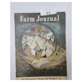 (2) vintage Farm Journal magazines