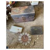 Rem line toolbox w/ assorted tools