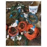14+ quality extension cords (assorted sizes)