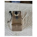 antique telephone (hand crank)