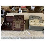 (2) vintage reel to reel machines