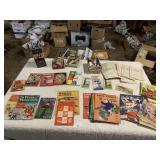 vintage books, magazine, childrens books