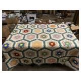 3 quilts and a quilt top