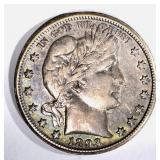 1893-O BARBER HALF DOLLAR, XF KEY COIN