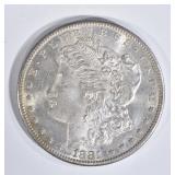 1881-S MORGAN DOLLAR CH BU GREAT COLOR