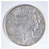 1928 PEACE DOLLAR AU/BU