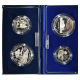 2 1993 TWO-COIN PROOF SETS