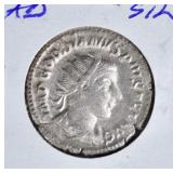 238-244 AD SILVER DOUBLE DENARIUS ROME